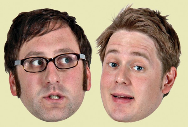 Eric Wareheim and Tim Heidecker