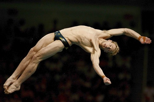 ... affirmative: Have you ever heard of Australian diver Matthew Mitcham?