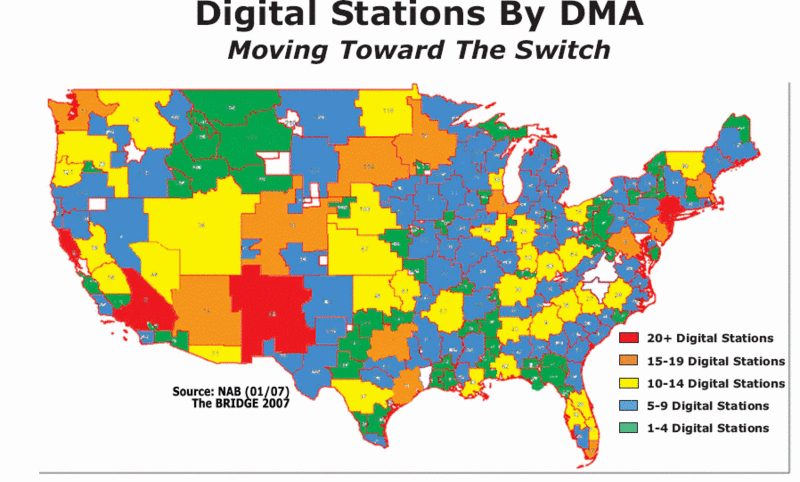 Television Dma Map Submited Images