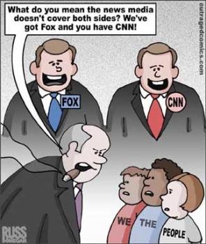 cnn vs fox news essay