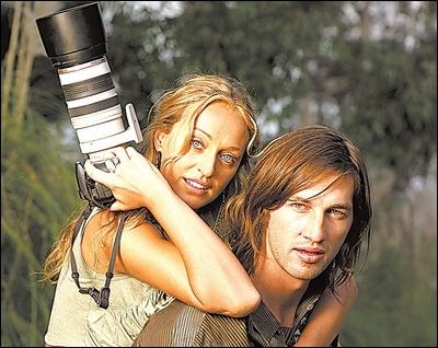Vanessa Garnick and Tristan Bayer