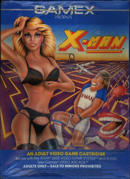 X-Man box art