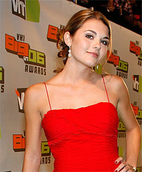 The real lonelygirl15 at the VH1 Big06 Awards
