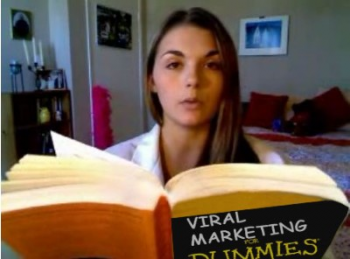 lonelygirl15 reads Viral Marketing for Dummies