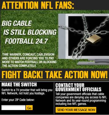 Campaign mounted by NFL Network