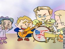 Lil' Bush band rocks out