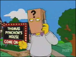 Thomas Pynchon on The Simpsons
