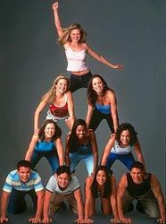 Cast Pyramid from Bring it On