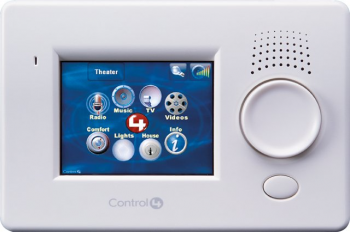 The Control4 Wall Mount Touch Screen