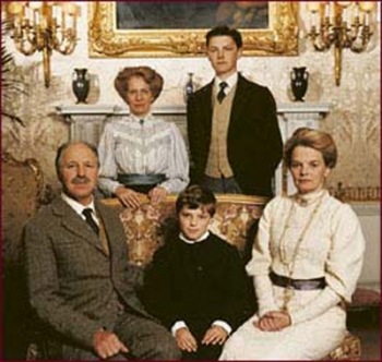 Sir John and family