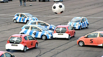 Toyota Aygo Football Match