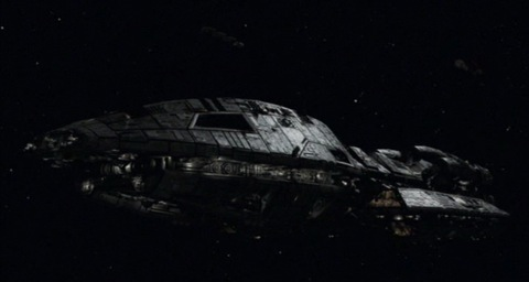 The reimagined Battlestar Galactica (2006)
