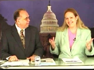 Pastor Thomas Robb and Klan Spokeswoman Rachel Pendergraft on White Pride TV