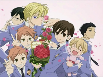 Haruhi and her fellow hosts