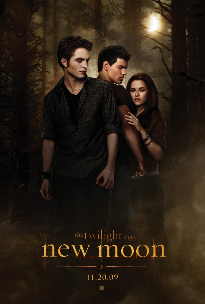 Promotional poster for New Moon