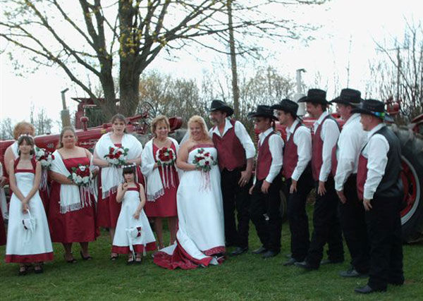 Big redneck wedding