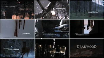 Deadwood Title Sequence