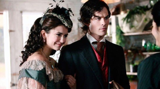 Katherine and Damon in 1864