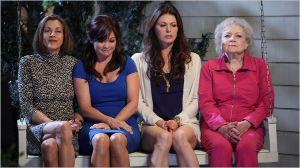 The cast of Hot in Cleveland