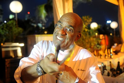Al Roker in Chef's Coat