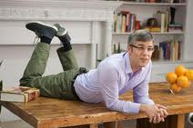 Mo Rocca on Foodography table.