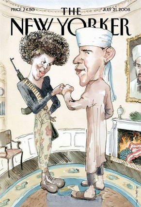 New Yorker Obama Michelle Cover