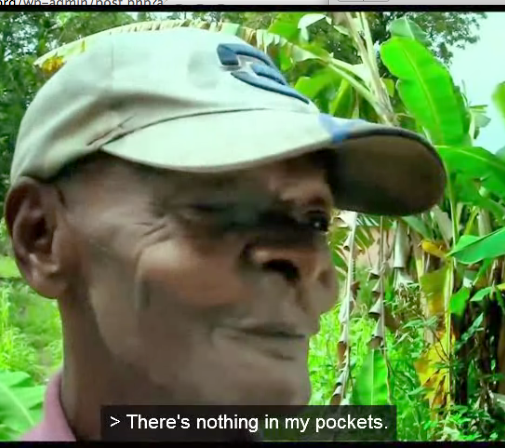 Nothing in my pockets