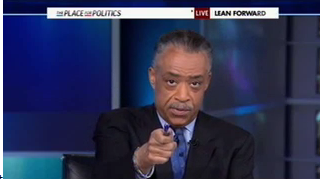 Al Sharpton Preaching to His Choir