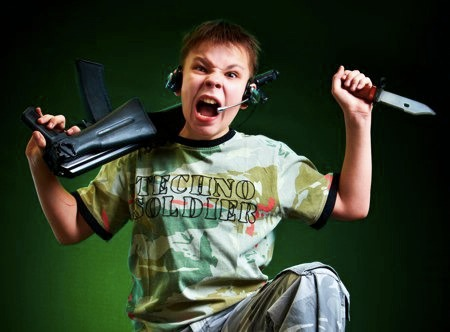 Techno-Soldier: Representation of Very Young Male Gamer Violence<br />