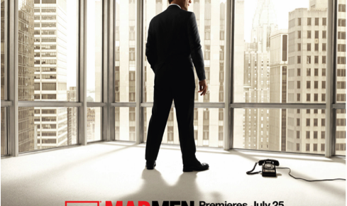 The Mad Men season 4 promotional poster